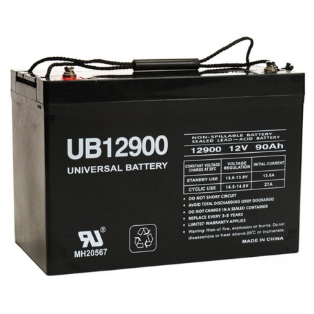 12v 90a UB12900 UPS Battery replaces 88ah Alpha Cell 160 AGM, 160AGM