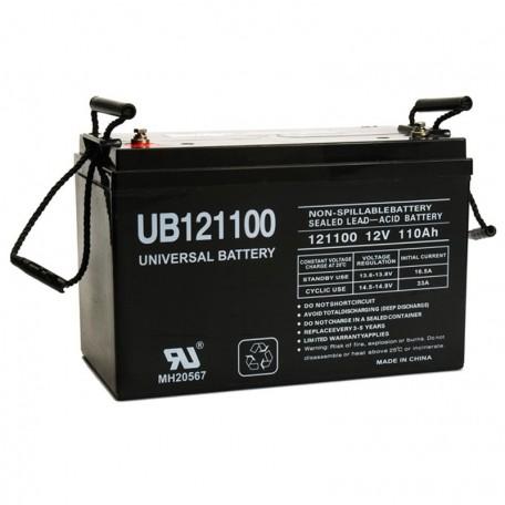 12v UB121100 UPS Battery replaces 100ah Alpha Cell SMU-HR 12-100
