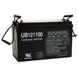 12v 110ah UPS Battery replaces 100ah Leoch LPL12-100, LPL 12-100