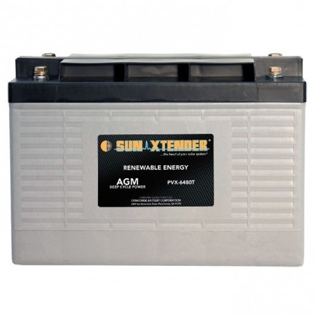 2v 648ah Deep Cycle Concorde Sun Xtender PVX-6480T Solar Battery