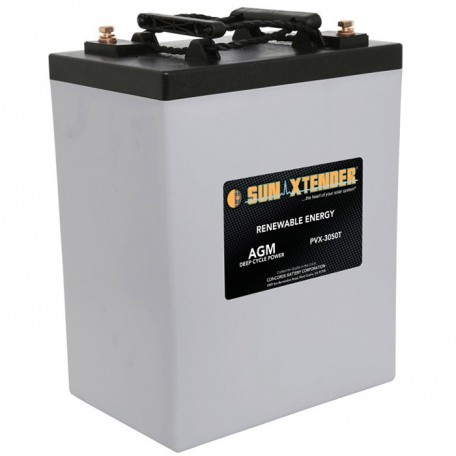 6v 305ah Deep Cycle Concorde Sun Xtender PVX-3050T Solar Battery