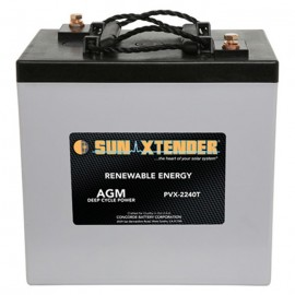 6v 224ah Deep Cycle Concorde Sun Xtender PVX-2240T Solar Battery