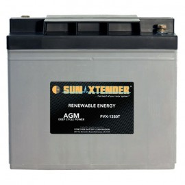 6v 138ah Deep Cycle Concorde Sun Xtender PVX-1380T Solar Battery