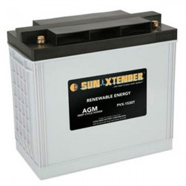 12v 153ah Deep Cycle Concorde Sun Xtender PVX-1530T Solar Battery