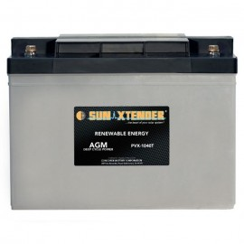 12v 104ah Deep Cycle Concorde Sun Xtender PVX-12100T Solar Battery