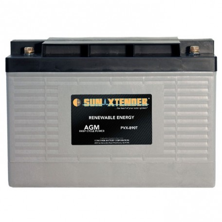 12v 89ah Deep Cycle Concorde Sun Xtender PVX-890T Solar Battery
