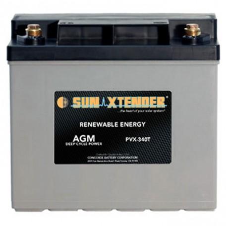 12v 34ah U1 Deep Cycle Sun Xtender PVX-340T Solar Battery