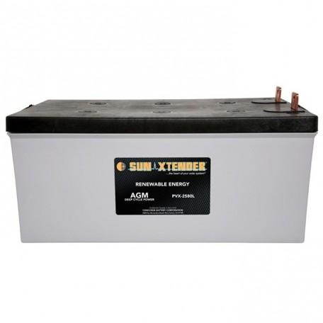 12v 258ah 8D Deep Cycle Sun Xtender PVX-2580L SCADA Solar Battery