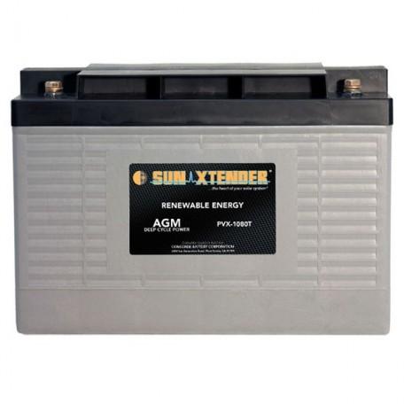 12v 108ah Deep Cycle Sun Xtender PVX-12105T SCADA Solar Battery