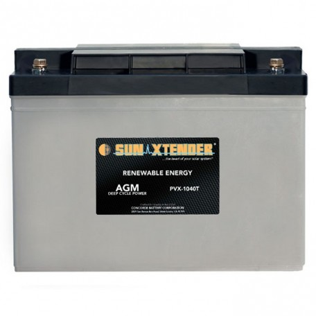 12v 104ah Deep Cycle Sun Xtender PVX-1040T SCADA Solar Battery
