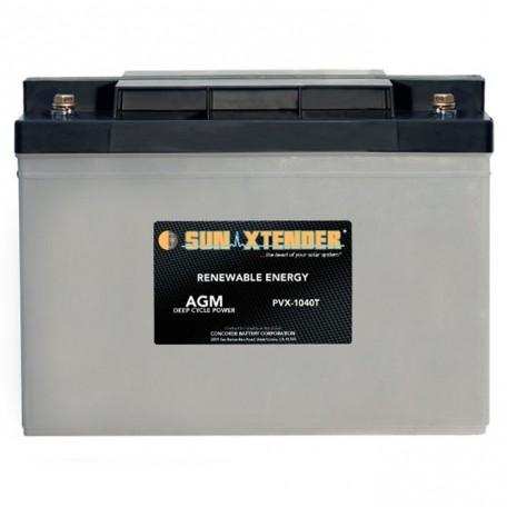 12v 104ah Deep Cycle Sun Xtender PVX-12100T SCADA Solar Battery