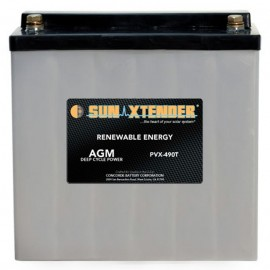 12v 49ah Deep Cycle Sun Xtender PVX-490T SCADA Solar Battery