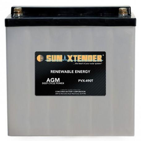 12v 49ah Deep Cycle Sun Xtender PVX-490T SCADA Solar Battery