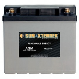 12v 34ah U1 Deep Cycle Sun Xtender PVX-340T SCADA Solar Battery