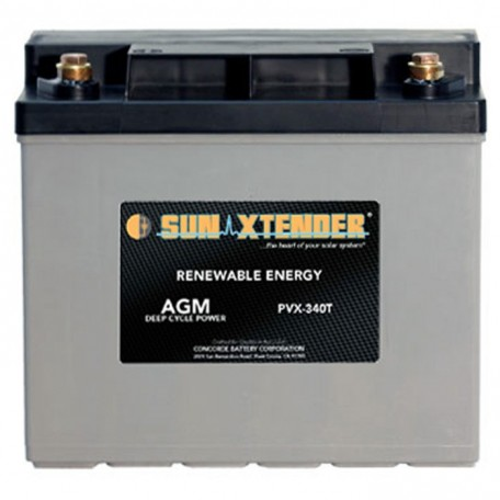 12v 34ah U1 Deep Cycle Sun Xtender PVX-1234T SCADA Solar Battery