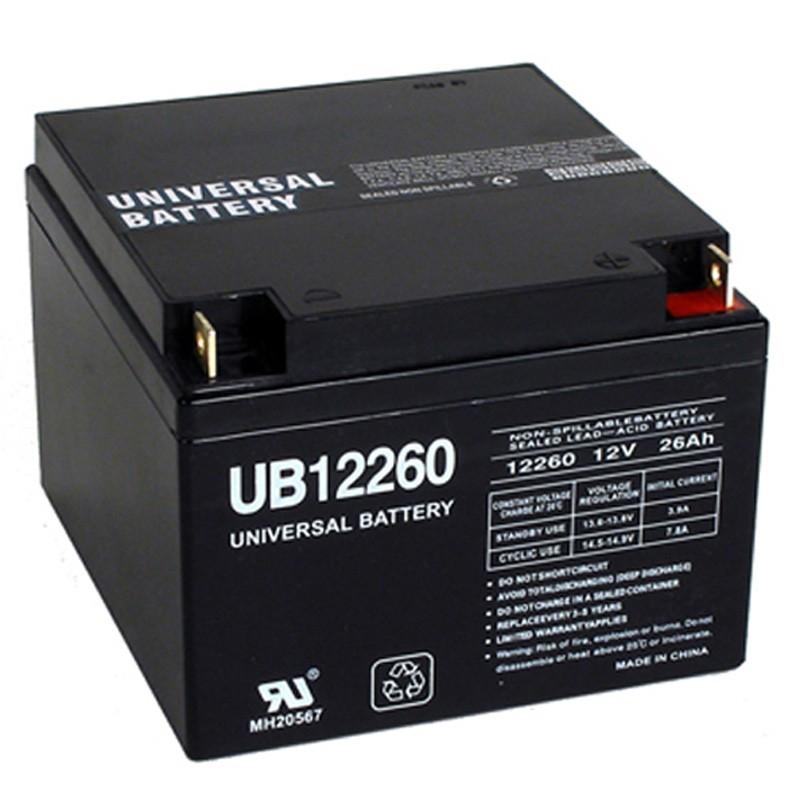 12v 26ah UB12260 UPS Battery replaces Amstron AP-12260NB