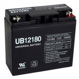 12 Volt 18 ah UPS Battery replaces 21ah Leoch DJW12-20, DJW 12-20