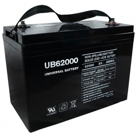6 Volt 200a Group 27 for 195ah GNB Champion M83CHP06V27 Battery