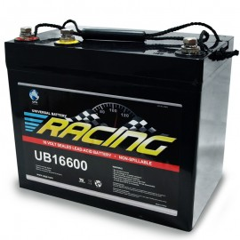 16 Volt 3 Post UB16600 Sealed AGM Professional Racing Battery