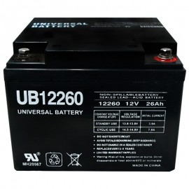 12 Volt 26 ah UB12260IT Power Cell Sealed AGM Car Audio Battery