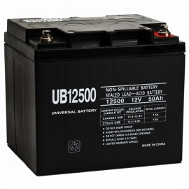 12 Volt 50 ah 1200 Watt UB12500 Power Cell Sealed Car Audio Battery