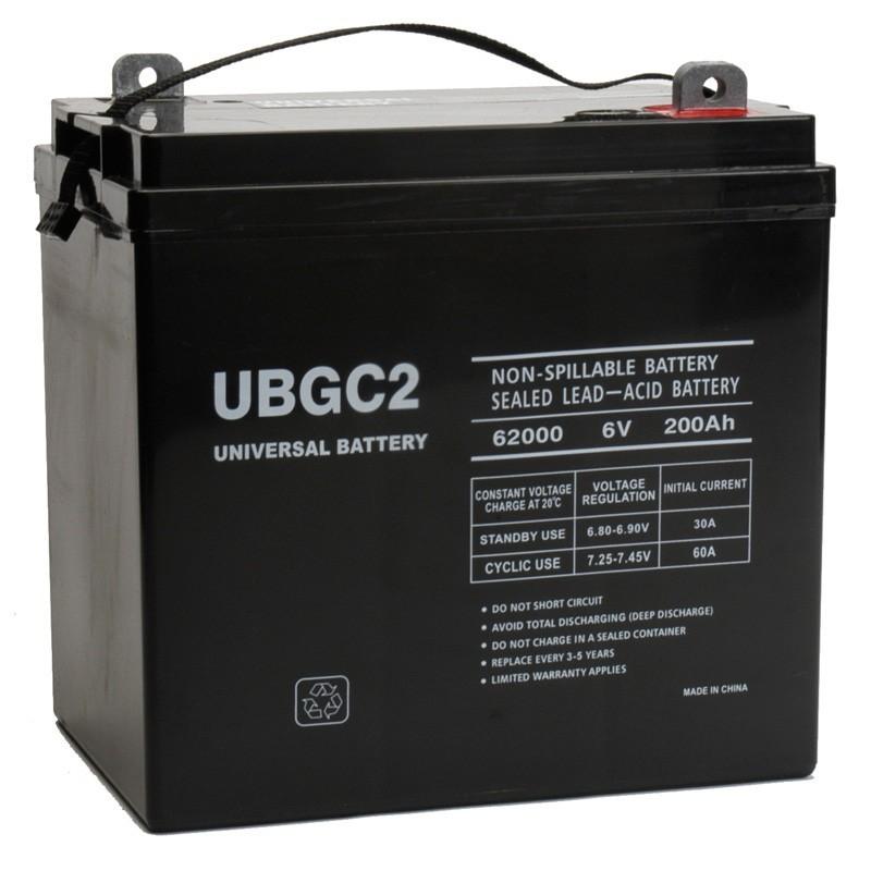 6 volt 200ah agm solar battery replaces trojan 6v agm 6vagm. Black Bedroom Furniture Sets. Home Design Ideas