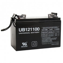 12v 110ah SCADA Solar Battery replaces 100ah C&D PowerCom VRS12-100C
