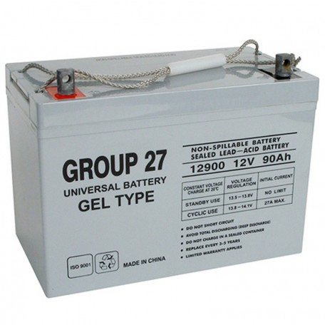 ub 27 gel replaces mk 12 volt 88 ah e27 sld g solar battery. Black Bedroom Furniture Sets. Home Design Ideas