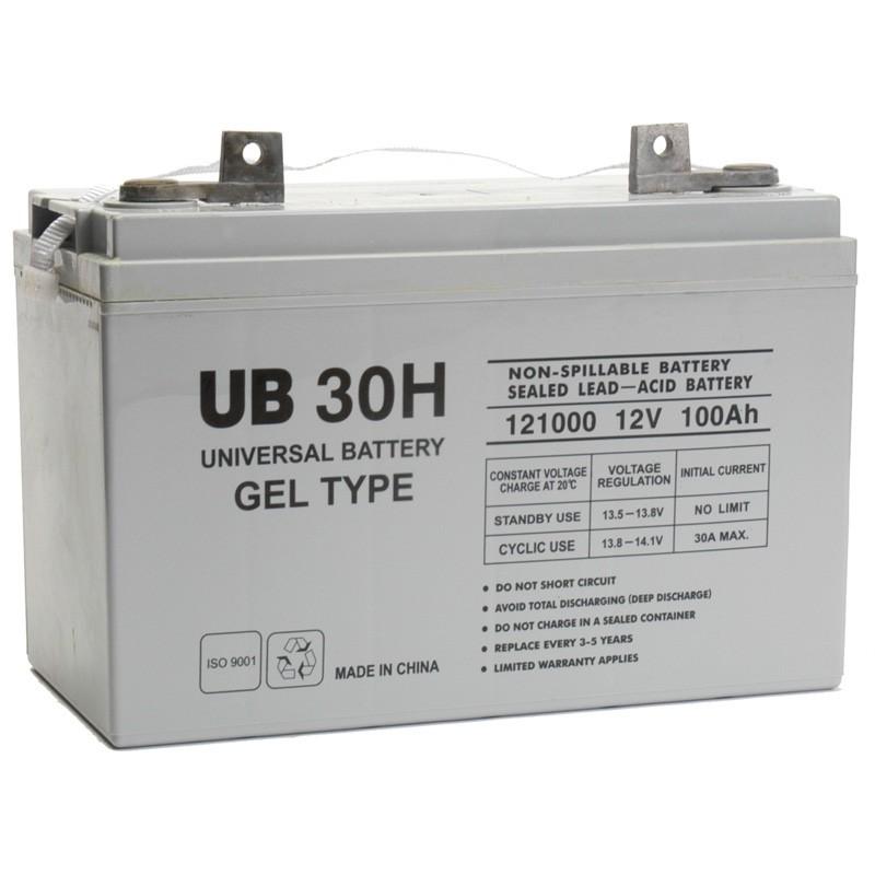 ub 30h gel replaces deka 12 volt 97 6 ah 8g31 solar battery. Black Bedroom Furniture Sets. Home Design Ideas