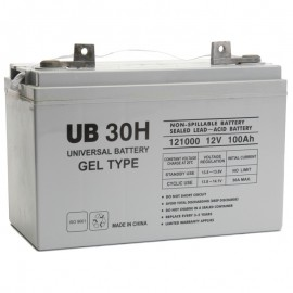 UB-30H GEL replaces Werker 12v 100ah SLAG12-100J Wheelchair Battery