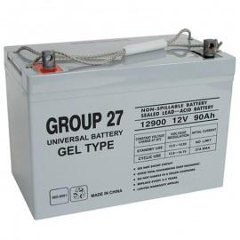UB-27 GEL replaces Genesis 12v 87 ah NP-GEL90-12 Wheelchair Battery
