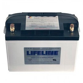 12v 100ah Concorde Lifeline GPL-27T Deep Cycle Marine Battery