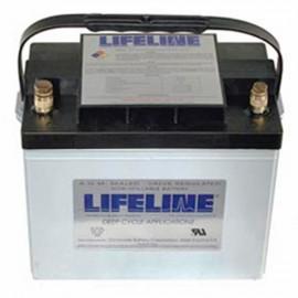 12v 80ah Concorde Lifeline GPL-24T Deep Cycle Marine Battery