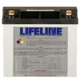 12v 33ah U1 Concorde Lifeline GPL-U1 Deep Cycle Marine Battery