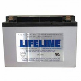 12v 57ah Concorde Lifeline GPL-1400T Marine Starting Battery