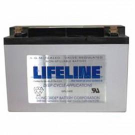 12v 57ah Concorde Lifeline GPL-1400T Marine Starting Battery