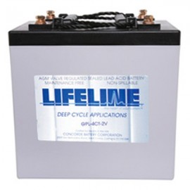 2v 660ah Concorde Lifeline GPL-4CT-2V Deep Cycle RV Battery