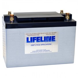 2v 630ah Concorde Lifeline GPL-31T-2V Deep Cycle RV Battery