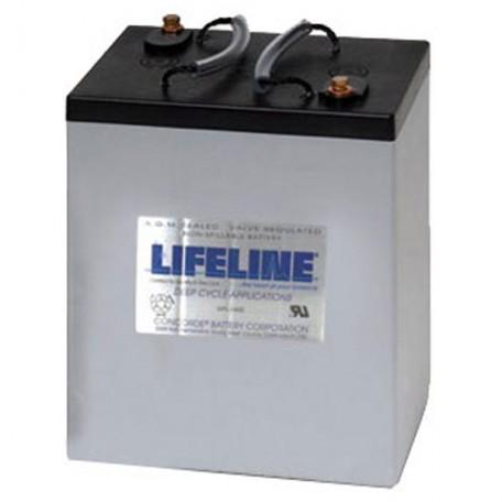 6v 300ah Concorde Lifeline GPL-6CT Deep Cycle RV Battery