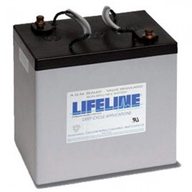 6v 220ah Concorde Lifeline GPL-4CT Deep Cycle RV Battery