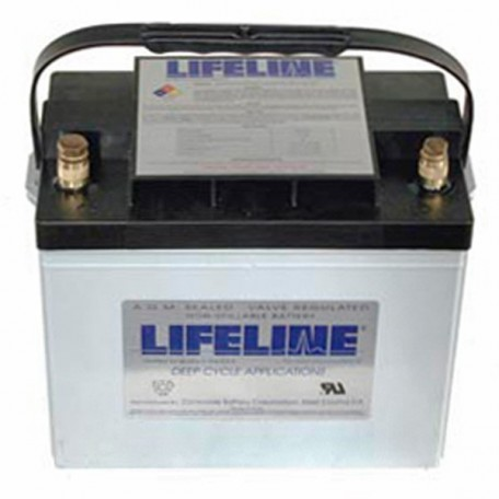 12v 80ah Concorde Lifeline GPL-24T Deep Cycle RV Battery