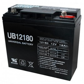 12 Volt 18ah Wheelchair Scooter Battery replaces Interstate DCM0018
