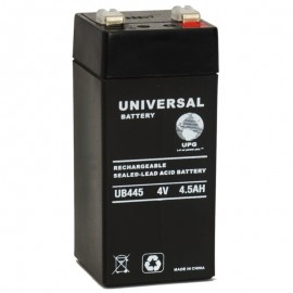 4 Volt 4.5 ah (12v 4.5a) UB445 Emergency Lighting Battery