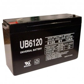 6 Volt 12 ah (12v 12a) UB6120 Emergency Lighting Battery