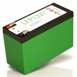 12 Volt 7 ah LiFePO4 LFP12V7 Lithium Iron Phosphate Battery