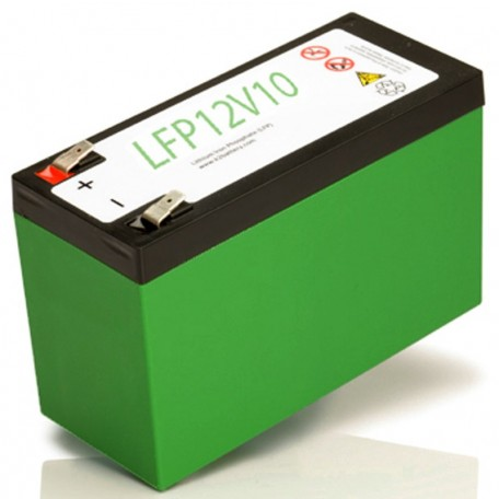 12 Volt 10 ah LiFePO4 LFP12V10 Lithium Iron Phosphate Battery