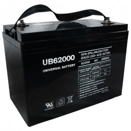 6v Group 27 replaces 200ah Leoch DJM6200H Elec Pallet Jack Battery