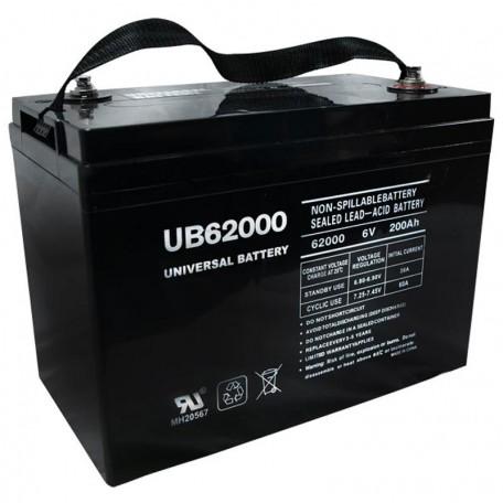 6v Group 27 replaces 200ah Leoch DJM6200H Elec Pallet Jack Battery