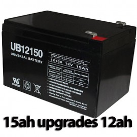 Pride Mobility BATLIQ1013 AGM 12v 12 Ah Replacment Battery 15ah