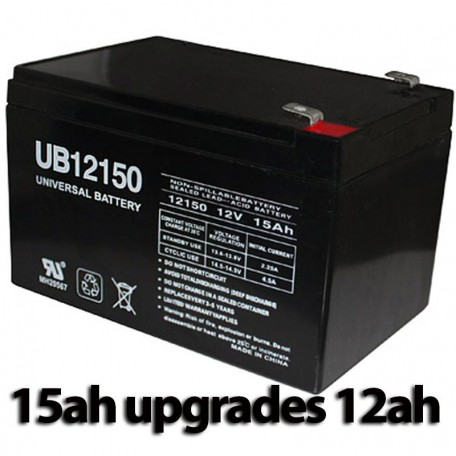 Pride Mobility SC52 Sonic Scooter Battery 15ah